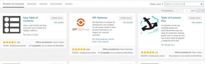 plugin contenidos pasos seo optimizacion mejorar el posicionamiento web
